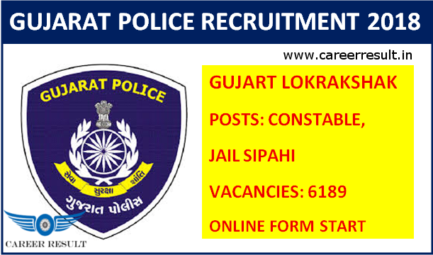 Latest Govt Jobs In Gujarat Police