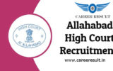 Allahabad High Court Recruitment 2018