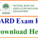 Nabard Grade A Final Selected Result 2018