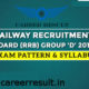 Railway Recruitment Board (RRB) Syllabus