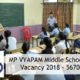 MP Middle School Teacher Online Form 2018