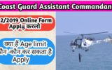 Coast Guard Assistant Commandant 2019 Online FormCoast Guard Assistant Commandant 2019 Online Form