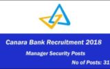 canara-bank-recruitment-2018-31 Manager Security