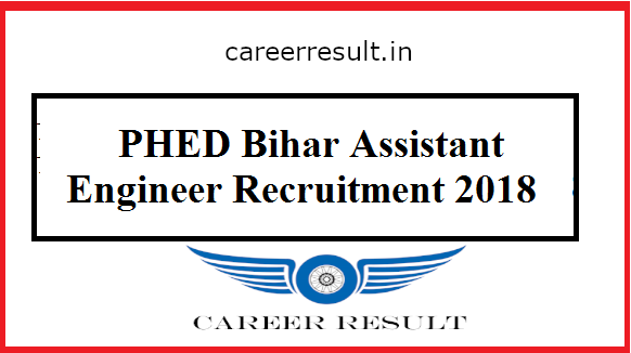 Bihar PHED Assistant Engineer Online Form 2018