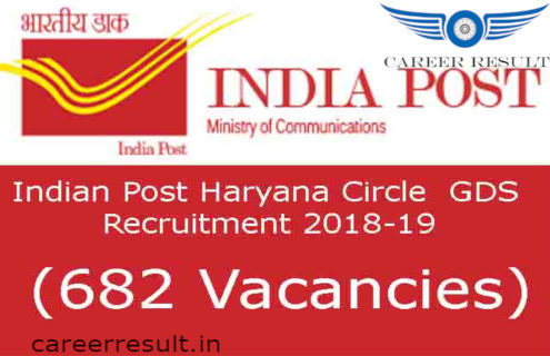 Latest Vacancy in Haryana Gramin Dak Sevak Recruitment 2018 ,Apply Haryana Postal Circle GDS Online Form for Haryana Gramin Dak Sevak Vacancy 2018