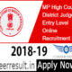 MP High Court Recruitment 2018 - Apply Online for District Judge