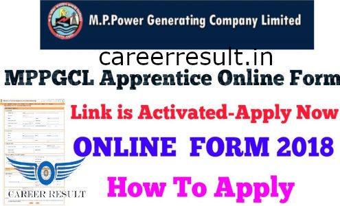 MPPGCL Trade Apprentice Online Form 2018