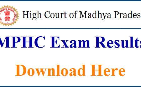 MPHC Civil Judge Additional Result 2018